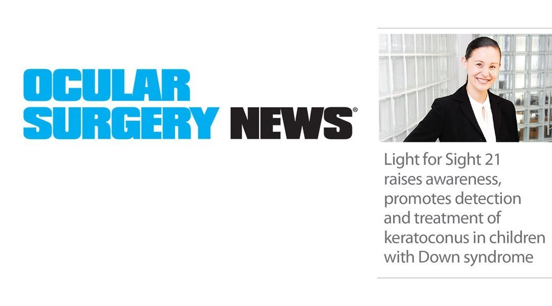 Light for Sight raises awareness about keratoconus in children