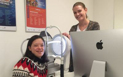 Switzerland's first Down Syndrome eye health consultation
